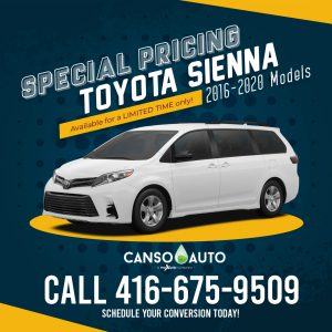 CansoAuto Toyota Sienna Special Pricing